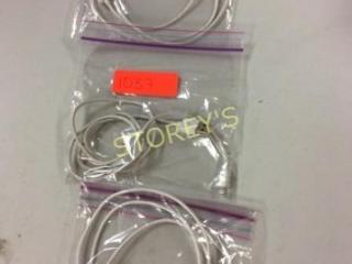 3 pc - AV USB to Lightning Cables
