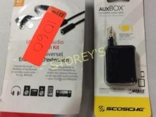 2 pc - Audio Cable & Aux Box