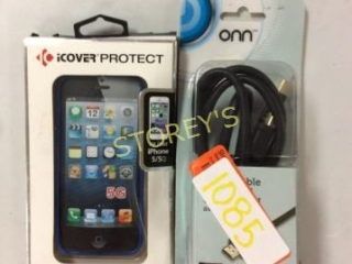 2 pc - iPhone 5 Case & HDMI Cable