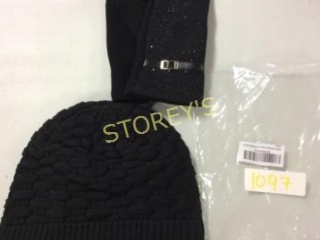 2 pc - Winter Woven Hat & Gloves