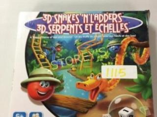 3D Snakes N' Ladders Game