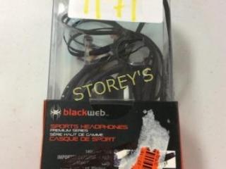 Blackweb Sports Headphones