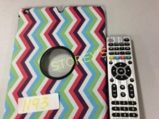 2 pc - Universal Remote Control & Tablet Cover