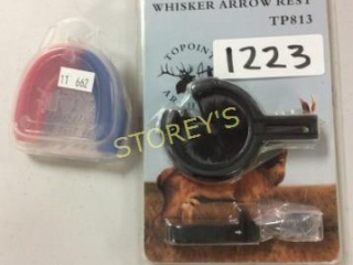 2 pc - Whisker Arrow Rest & Mouth Piece