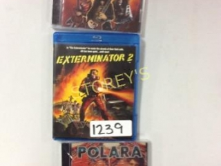 3 pc - Game/Movie Lot