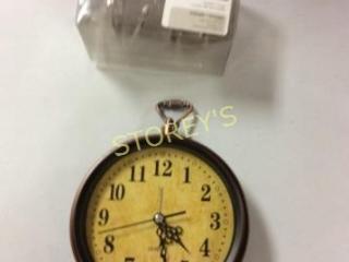 2 pc - Napkin Holders & Standing Clock