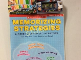 3 pc - Crayola Chalk, Memorizing Strategies &