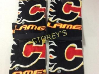 4 pc Calgary Flames Wash Clothes