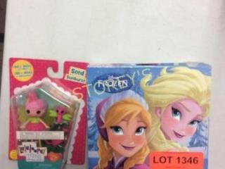 2 pc - Lala Loopsy & Disney Frozen Puzzle