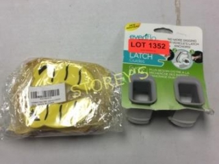 2 pc - Evenflo Latch & Baby Safety Accessories