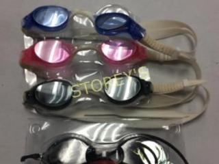 4 pc - Swimming Goggles
