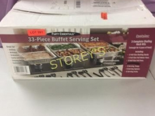 Buffet Serving Set (Incomplete)