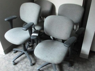 (4) Five Star Office Arm Chairs,