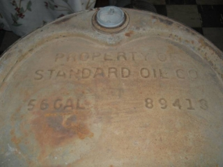 Standard Oil Co. 56 Gallons...