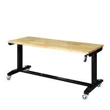 Husky 46 in. Adjustable Height Work Table not used