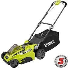 Ryobi 20 in. 40-Volt Brushless Lithium-Ion Cordless Battery Walk Behind Push Lawn Mower - 5.0 Ah Battery/Charger Included  in like new condition