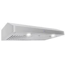 36 in. 600 CFM Under Cabinet Range Hood with Light in Stainless Steel  in like new condition
