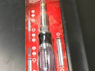 Husky 15-in-1 Screwdriver/Nut Driver  in like new condition