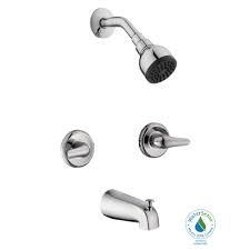 Glacier Bay Aragon 2-Handle 1-Spray Tub and Shower Faucet in Chrome (Valve Included)  in like new condition