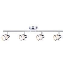 Hampton Bay 4-Light Pewter Integrated LED Track Lighting Fixture not used