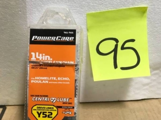 Power Care Lawn Equipment Parts Y52 Zip-Pack Chainsaw Chain CL-15052PC2  in like new condition