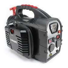Husky 8-in-1 12-Volt Power Source/Jumpstarter  in like new condition