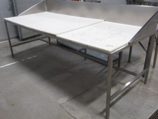 Stainless Steel Table With Cutting Board