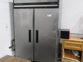 Stainless Steel Two Door Max Cold Model
