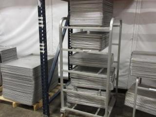 Metal Cart with an Assortment