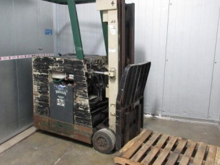 Crown Electric Stand Up Forklift Two Stage