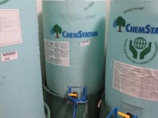 Chem Station 100 Gallon Chemical Tank