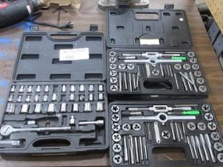 ASE & Metric Tap & Die Sets, Socket Set