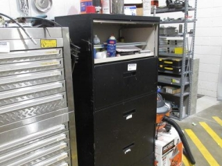 Five Drawer Lateral File Cabinet Including
