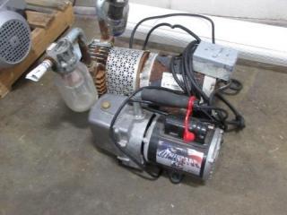 (2) Vacuum Pumps