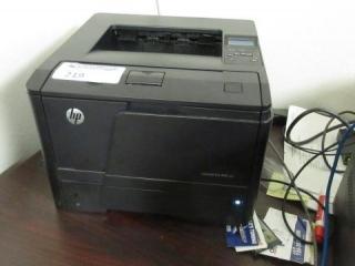 Hewlett Packard LaserJet Pro Printer