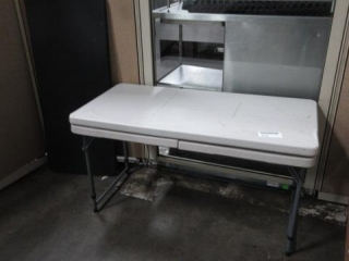 (3) Small Folding Tables