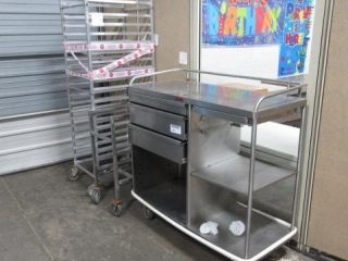(3) Assorted Rolling Carts as