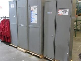Metal Lockers including Smocks