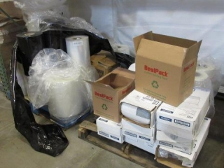 Large Lot of Sealant Rolls, Tape,