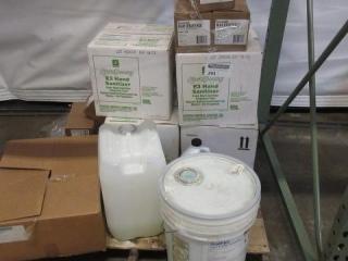Pallet of Hand Sanitizer