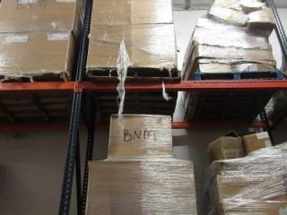 (2) Pallets Styrofoam.