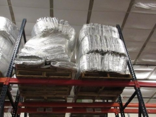 (2) Pallets of Insulated Pads.