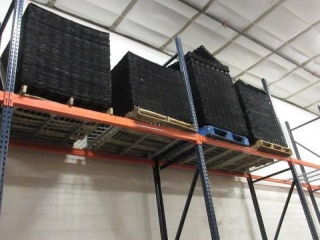 (4) Pallets of Plastic Pallet Dividers.