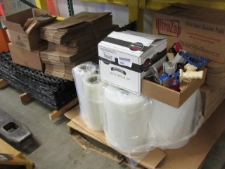 Lot of Tape, Rolls of Film, Absorbent Pads,