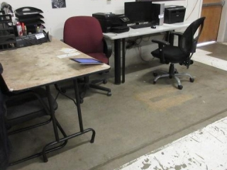 Folding Table, Wall Table, (2) Five Star