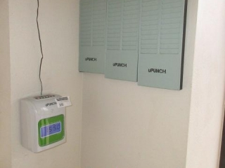 Upunch Time Clock Includes Card Racks