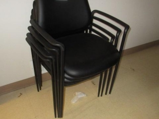 (4) Stack Chairs