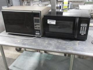 Montgomery Microwave, Hamilton Beach Microwave