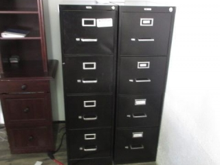 2-Four Drawer Files, Located in Remote Office