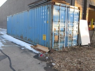 Approximate 40' High Cube Storage Container